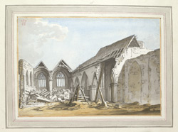 The Ruins Of East Grinstead Church